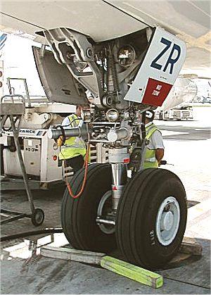 Feux de positions et phares des avions Feux17