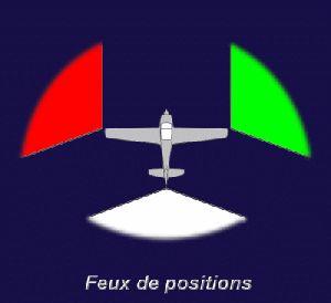 Feux de positions et phares des avions Feux20